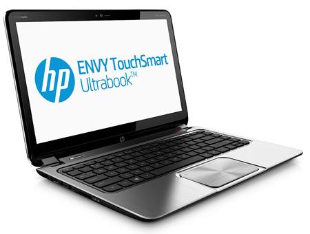 ноутбук HP Envy TouchSmart Ultrabook 4