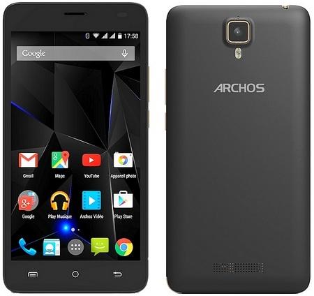 Archos анонсировала смартфон 50d Oxygen