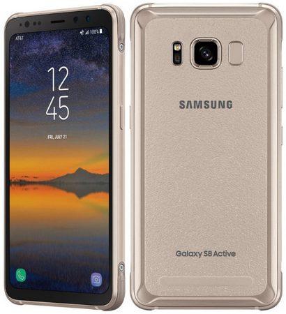 Защищённый смартфон Samsung Galaxy S8 Active