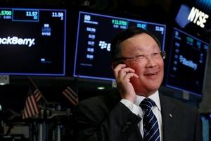 Акции BlackBerry с начала года подорожали на 86%